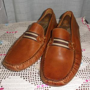 Steve Madden Drifter Brown Leather MocToe Shoe 12
